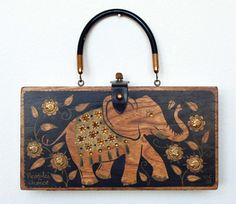 Enid Collins People's Choice Box Bag by niwotARTgallery on Etsy, $180.00