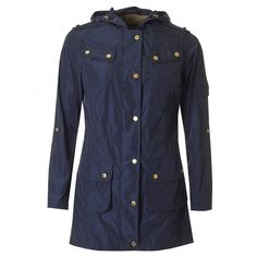 Barbour International Delter Casual Longer Length Jacket (4739805 BYR) ❤ liked on Polyvore featuring outerwear, jackets, navy, navy jacket, lightweight zip jacket, zipper jacket, pocket jacket and navy lightweight jacket