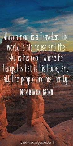 Here are the best travel quotes paired with beautiful photographs. Be inspired in life and travel travel. Print and save these photos for daily motivation #TravelQuotes