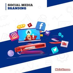 Boost your brand awareness by using a creative social media branding plan that will make it easy for you to get more relevant people into your sales funnel 💸 ⌨ www.mainstreampronet.com 📱+96170983199  #mainstreampronet #digitalmarketing #socialmedia #branding #design #socialmediamarketing