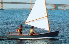 Jimmy Skiff: A Chesapeake Bay Rowing & Sailing Skiff