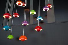 Flowerpot Lamps (designed 1968)