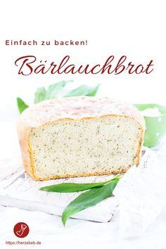 Bärlauch Rezepte, Brot Rezepte: Tolles Bärlauchbrot Rezept von herzelieb. Mit Dinkelmehl, Joghurt, viel Bärlauch und ganz viel Liebe. #bärlauch #brot #dinkel