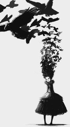 That the birds of worry and care fly over you head, this you cannot change, but that they build nests in your hair, this you can prevent. ~Chinese Proverb