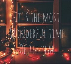 Image via We Heart It #christmas #holiday #holidays #light #magic #miracle #miracles #newyear #snow #winter #wonderful #loghts