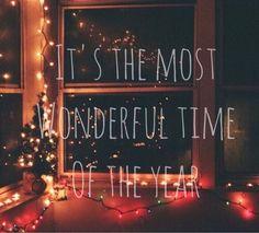 Image via We Heart It #christmas #holiday #holidays #light #magic #miracle #miracles #newyear #snow #winter #wonderful #loghts
