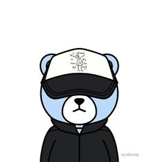 Krunk Bigbang, Ikon, Wallpaper Backgrounds, Korea, Fandoms, Fan Art, Bear, Photography, Fictional Characters