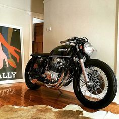 Motorcycle of The Day Honda CB 750 Four #caferacer