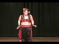 dance (playlist) Plus size, but carries herself well