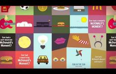 Adobe / TheFWA | The Cutting Edge award winner | 100 McDonald's Moments