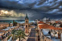 Ron Shoshani: Clock tower of Jaffa