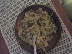 Tagliatelle funghi Porcini e Zucchine