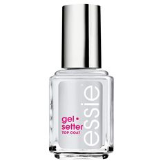 2016 allure best of beauty award winning product. it's everything you love about gels, but in a perfect top coat you can use anywhere and everywhere.  so, whether you're off to a desert island or dashing to your next meeting, now there's a little something in your beauty bag that can keep up with your go-getter lifestyle: essie gel.setter. bon voyage!<br><br>for a perfect manicure use apricot cuticle oil, essie base coat, 2 coats of essie polish, and seal with essie ge...