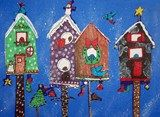 Holiday Bird Houses