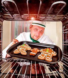 Teploty trouby při pečení cukroví, moučníků a dezertů