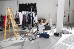 #steamaster #steamer #backstage #photo #photosession #session #ironing #iron #studio
