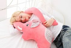 An elephant who wants to hug you with her trunk. | 36 Insanely Awesome Things Under $40 You Need For Your Bedroom