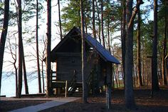 Lake Livingston State Park Cabins.