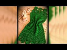Vestido circulo vídeo 1 - YouTube Knitting Videos, Crochet Videos, Parte Superior Del Bikini, Crochet Summer Dresses, Blouse Models, Crochet Woman, Crochet Blouse, Blouse Dress, Cute Crochet