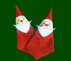 FREE printable Santa Cause Serviette holders