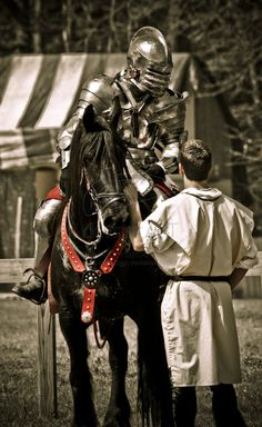 Knight and Squire by mattboggs.deviantart.com on @deviantART
