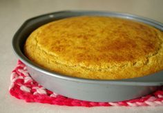'Corn' bread made from millet - Type B's and O's if you sub milk