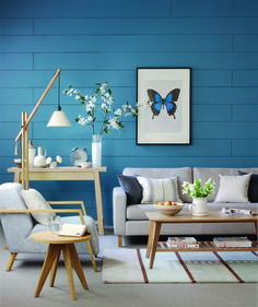 Relaxing and Cool Decor #Blue