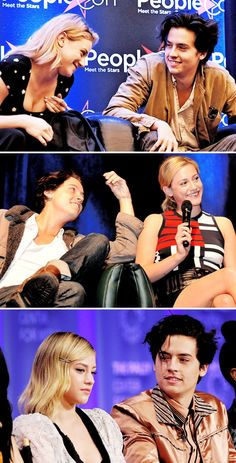 Riverdale cast - sprousehart - Cole 'Heart Eyes' Sprouse - a compilation.