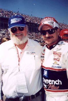 Charlie Daniels and Dale Earnhardt.