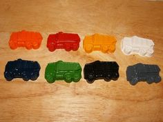 could I possibly find trash truck molds?! for chocolates or crayons?