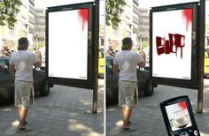 33 Cool and Creative Bus Stop Advertisements | Bored Panda