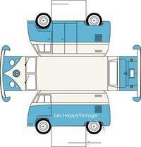 paper toy VW