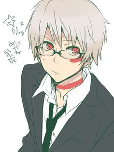 Ahaha I love anime byos with glasses. And they fit Shion-chan. | via Tumblr