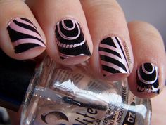 Nails, nails, nails! I absolutely LOVE the different design types.  They all coordinate adorably with one another! <3