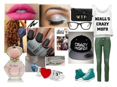 """""""Niall Horan Outfit <3"""" by cotton-candy-clouds143 ❤ liked on Polyvore featuring Converse, Payne, claire's and Ray-Ban"""