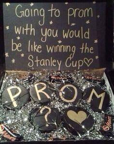 Hockey Prom Proposal