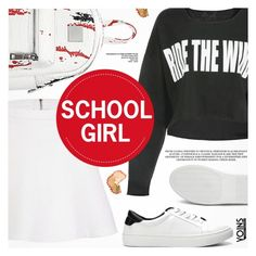 """Yoins 24:School Girl"" by pokadoll ❤ liked on Polyvore featuring polyvoreeditorial, polyvorefashion, polyvoreset and yoins"