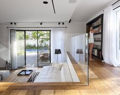 Architecture Design, Find My House Glass Box Ideaas Choose Books Read Use And Write: Find my House in Ramat Hasharon by Levy Chamizer Archit...