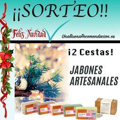 Sorteo de Navidad: 2 Cestas Jabones Artesanales