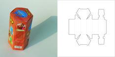 caja hexagono