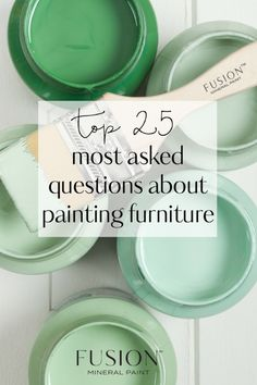 The Top 25 Painting Questions For Fusion Mineral Paint Chalk Paint Colors, Interior Paint Colors, Paint Colors For Home, Chalk Paint Furniture, Furniture Projects, Furniture Makeover, Furniture Nyc, Furniture Online, Furniture Outlet