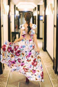 Floral Maxi Dress, Dress Skirt, Floral Fashion, Fashion Dresses, Cute Dresses, Girls Dresses, Evening Dresses, Summer Dresses, Girl Dress Patterns