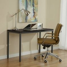 narrow desks amazoncom jesper parson picturesque furniture 47  fice: narrow desks