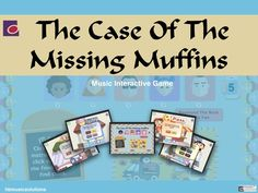 The Case Of The Missing Muffins - Music Interactive Game End Of Term, Music Theory, Music Lessons, Teaching Resources, Muffins, Product Launch, Games, Fun, Teaching Music