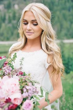 30 Pinterest Wedding Hairstyles For Your Unforgettable Wedding ❤ See more: http://www.weddingforward.com/pinterest-wedding-hairstyles/ #wedding #hairstyles
