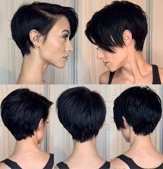 Edgy Short Hair, Short Hair Cuts For Women, Edgy Hair, Pixie Cut Blond, Long Pixie, Pixie Cuts, Medium Hair Styles, Curly Hair Styles, Hair Dos