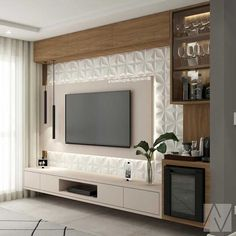 Room Design, Modern Tv Wall Units, Tv Wall Design, Living Room Decor, Tv Room Design, Living Room Design Modern, Living Room Tv Unit Designs, Wall Design, Living Room Tv