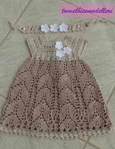 (notitle) The Effective Pictures We Offer You About ganchillo Crochet A quality picture can tell you many things. You can find the most beautiful pictures. Crochet Toddler, Baby Girl Crochet, Crochet Baby Clothes, Crochet For Kids, Crochet Baby Dress Pattern, Baby Knitting Patterns, Knit Crochet, Baby Dress Patterns, Crochet Summer Dresses