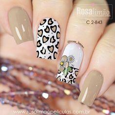 Fall Nail Designs, Cute Nail Designs, Solid Color Nails, Nail Colors, Beautiful Nail Designs, Beautiful Nail Art, Hair And Nails, My Nails, Pretty Nails