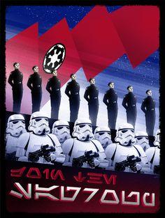 The First Order Propaganda Poster - Marko Manev